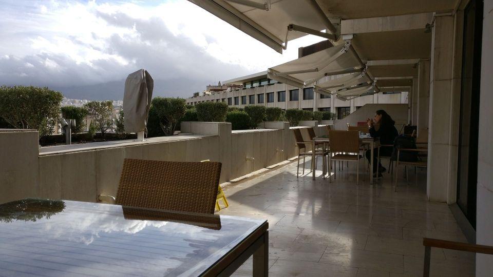 InterContinental Athens Athenaeum Club Terrace