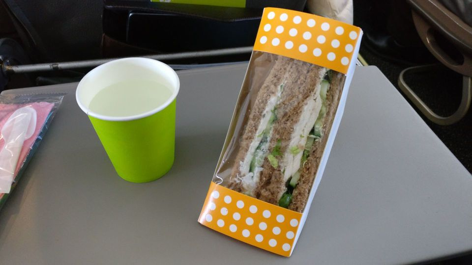 S7 Airlines Economy Class Catering
