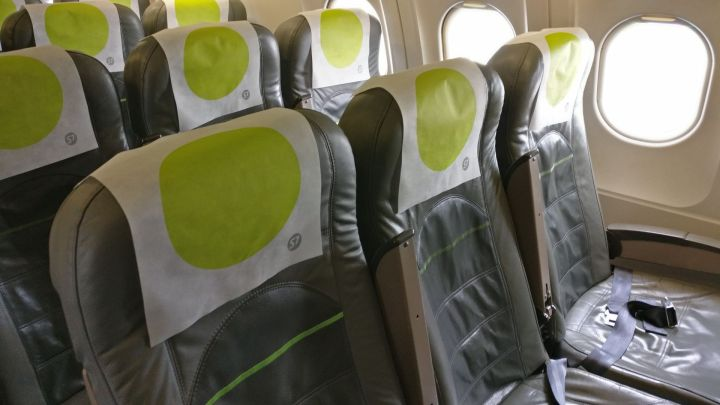S7 Airlines Economy Class Seating