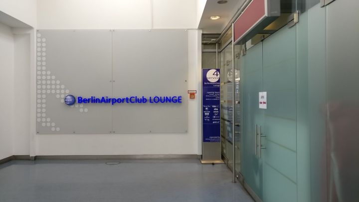 Berlin Airport Club Entrance