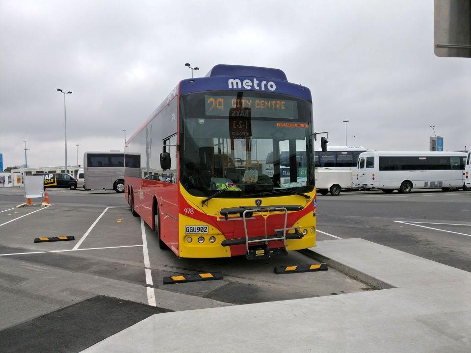 Christchurch Airport Bus