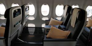 Silk Air Business Class Boeing 737 Seat