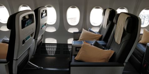 Silk Air Business Class Boeing 737 Seat