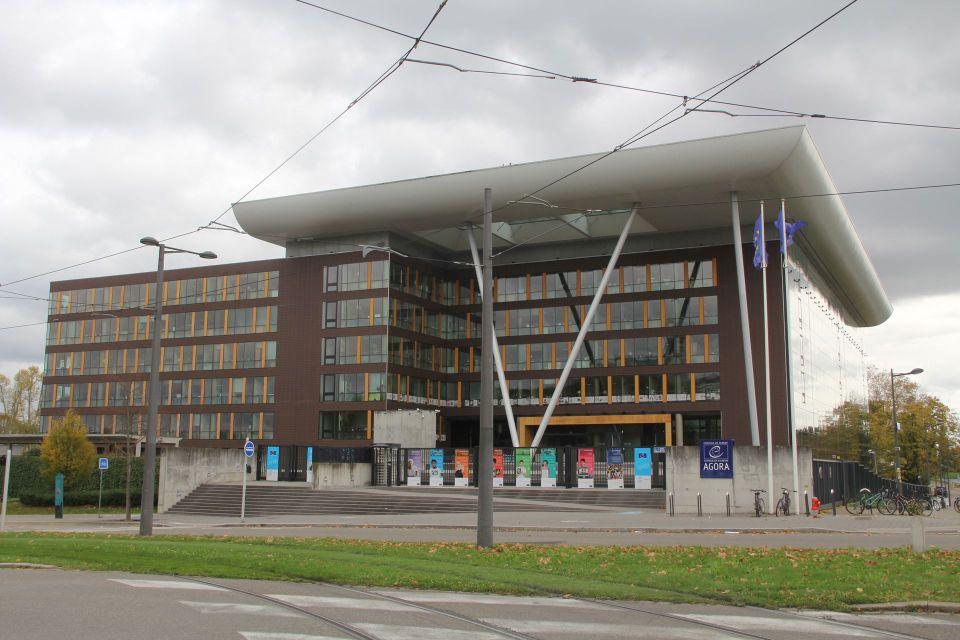 Agora Council of Europe Strasbourg