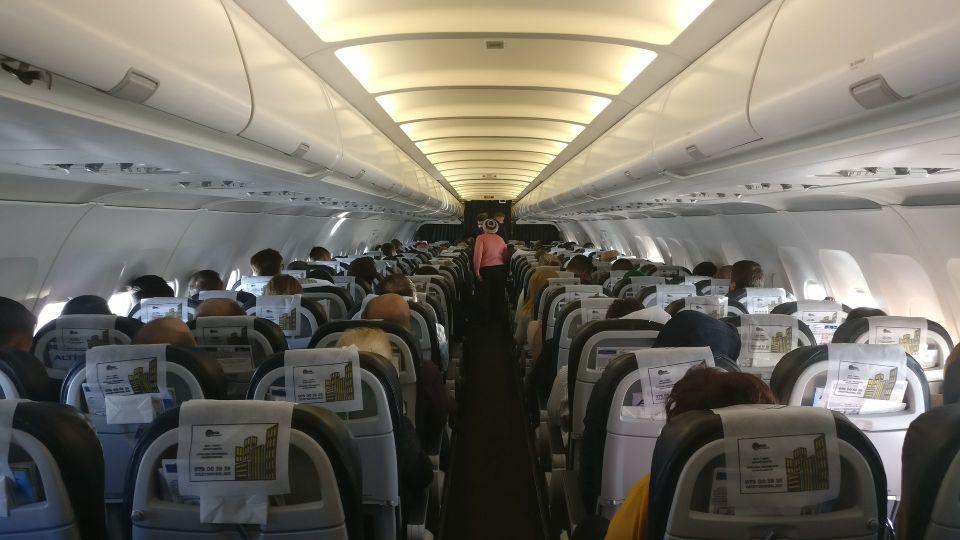 Air Moldova Economy Class Seating