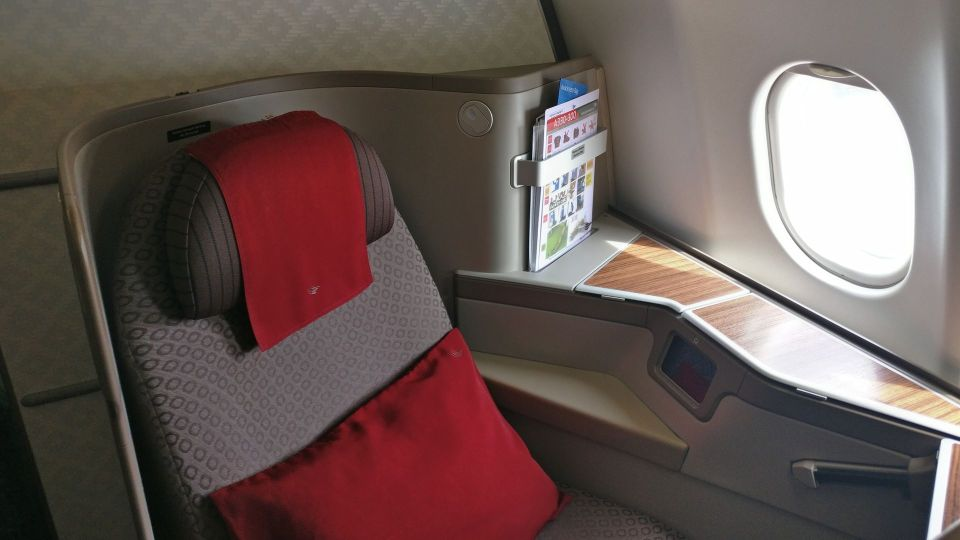 Garuda Indonesia Business Class Airbus A330 Seat
