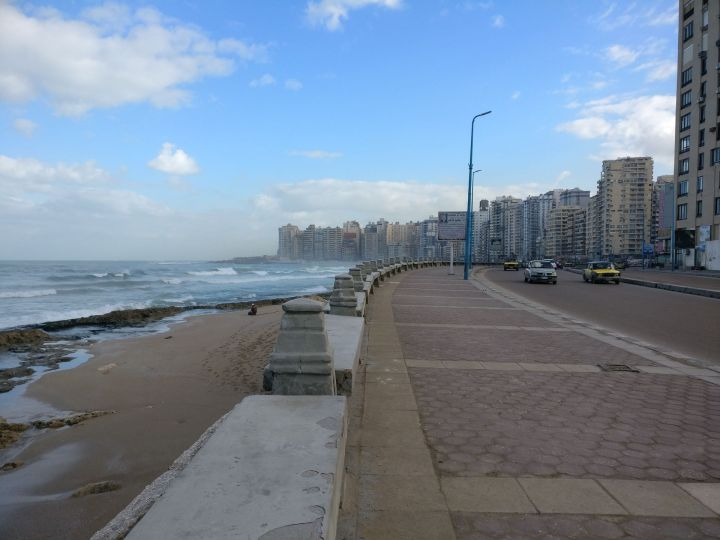 Running in Alexandria