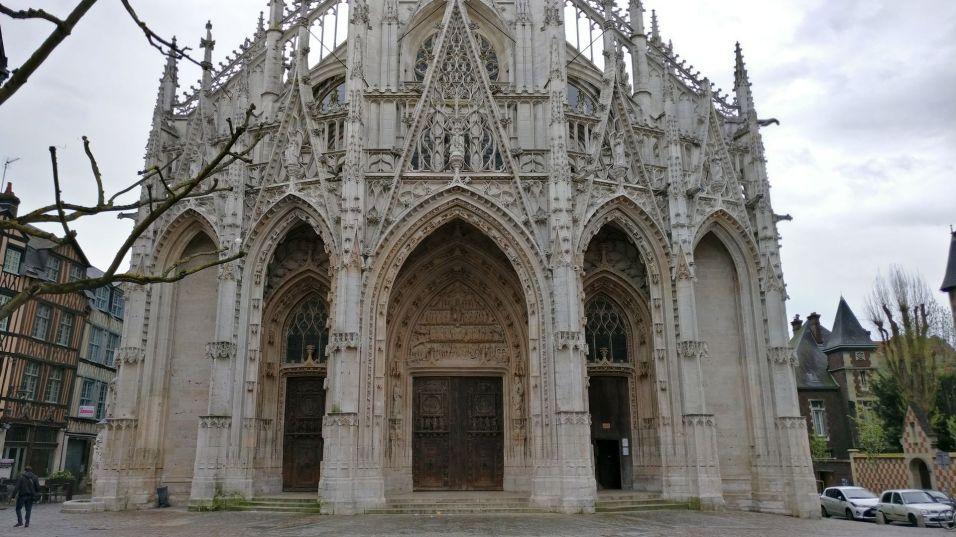 Saint Ouen Church Rouen