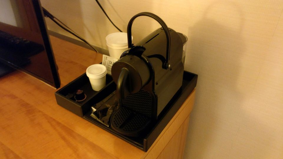 Sofitel Montreal Luxury Room Coffee Machine