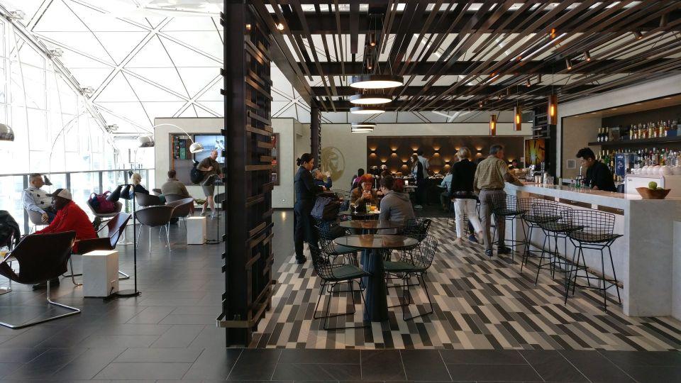 American Express Centurion Lounge Hongkong