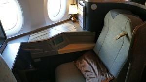 China Airlines Business Class Airbus A350 Seat