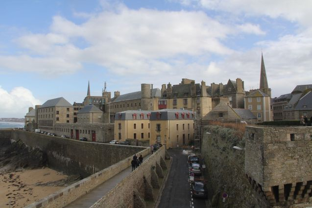 City Wall Saint Malo