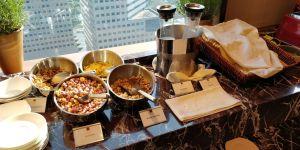 Conrad Singapore Executive Lounge Breakfast