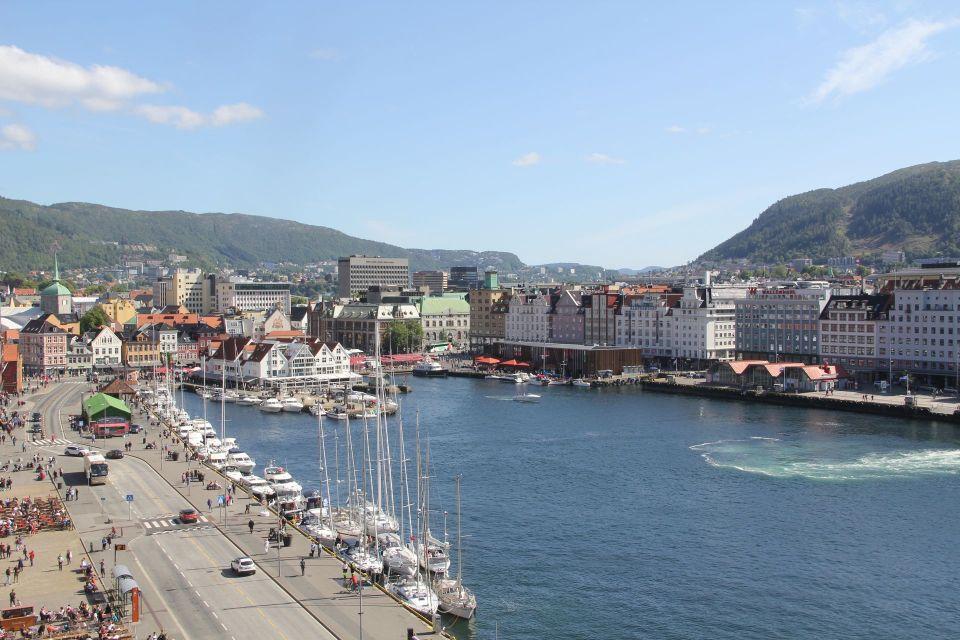Hotel Havnekontoret Bergen Tower View