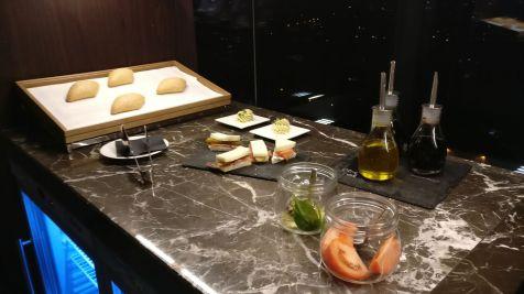 InterContinental Ljubljana Executive Lounge Evening Spread
