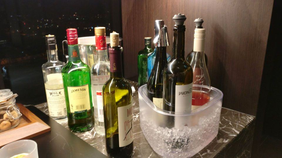 InterContinental Ljubljana Executive Lounge Evening Spread