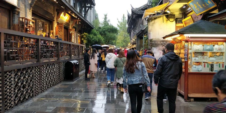 Kuan and Zhai Alley Chengdu