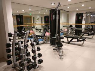 Le Meridien Hamburg Gym