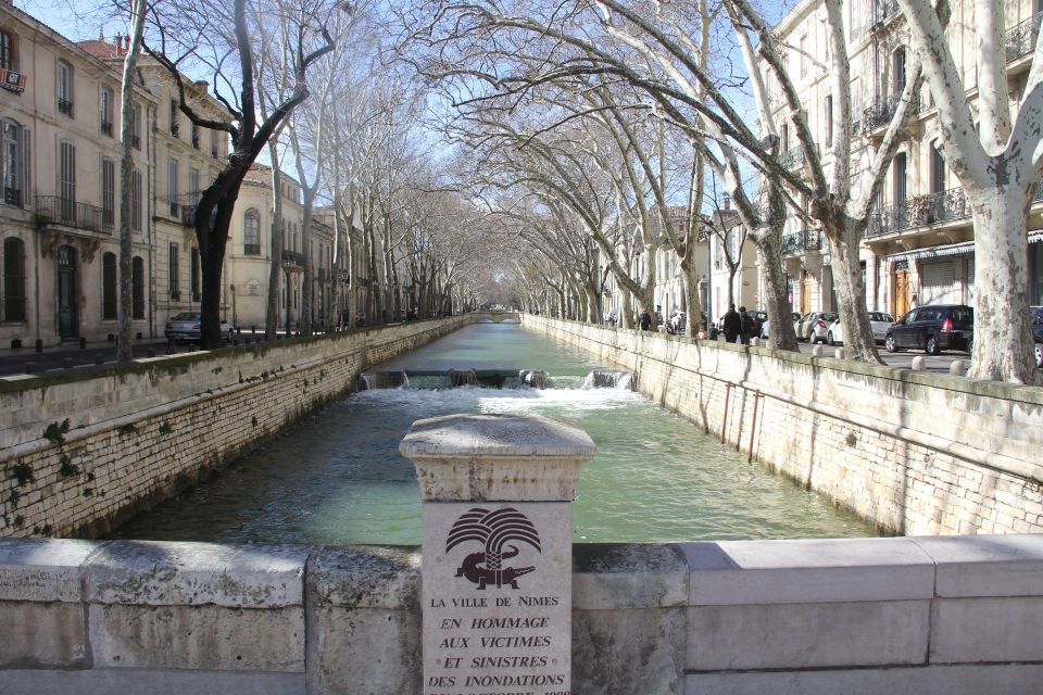 Quai de la Fontaine Nimes