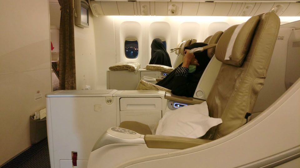 Saudia Business Class Boeing 777 Seat