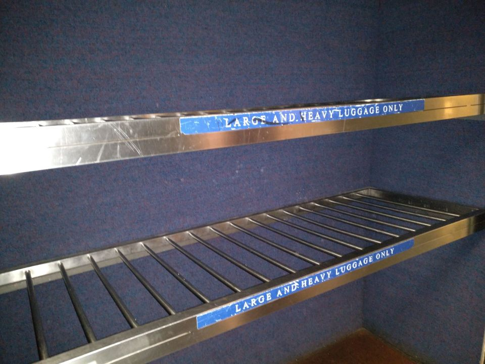 XPT Train Luggage Rack