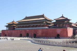 Forbidden City Beijing Meridian Gate