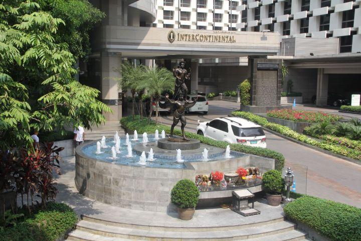 InterContinental Bangkok Entrance