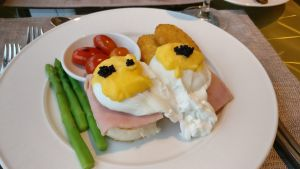 InterContinental Bangkok Executive Lounge Breakfast