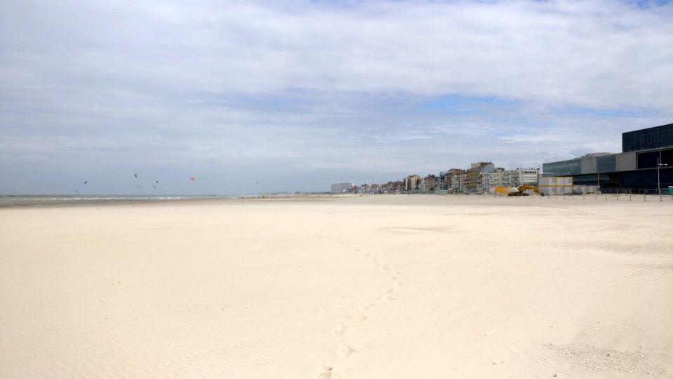 Beach of Malo-les-Bains Dunkerque
