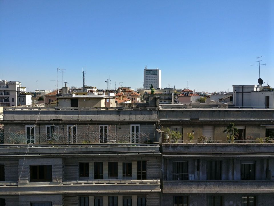 Palazzo Parigi Milan Executive Room View