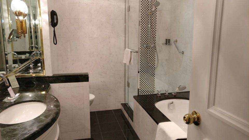 Steigenberger Wiltchers Brussels Bathroom