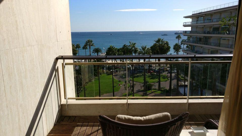 Grand Hotel Cannes Prestige Room Balcony