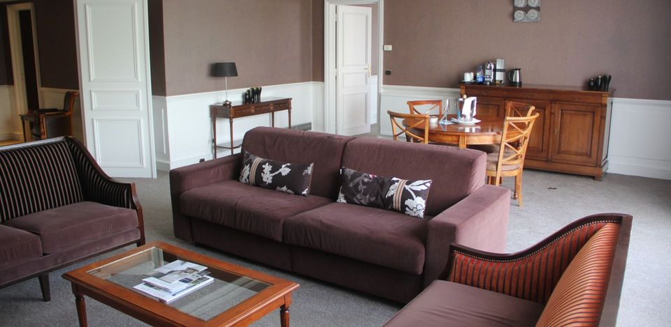 Sofitel Strasbourg Imperial Suite Living Room