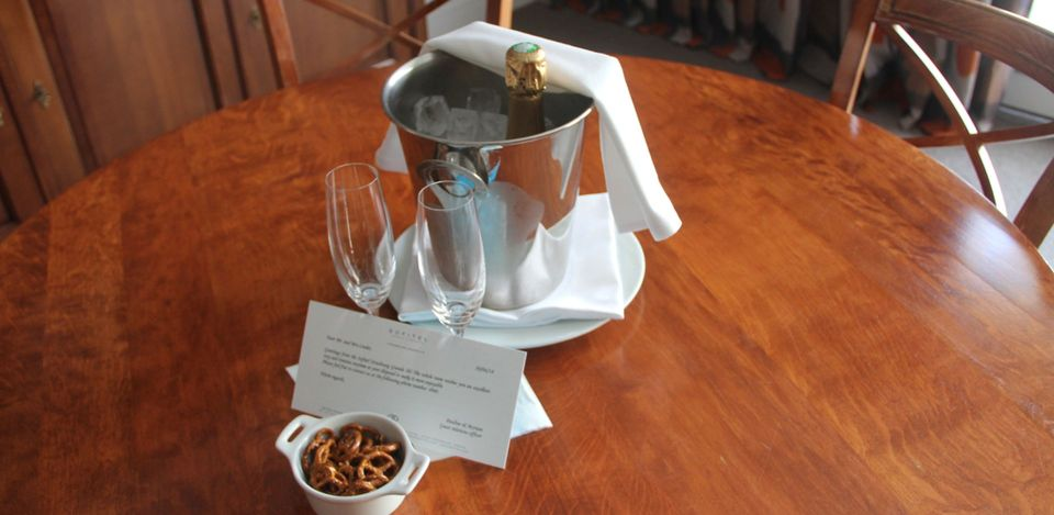 Sofitel Strasbourg Imperial Suite Welcome Gift
