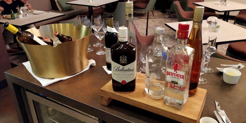 Hilton Belgrade Executive Lounge Evening Spread
