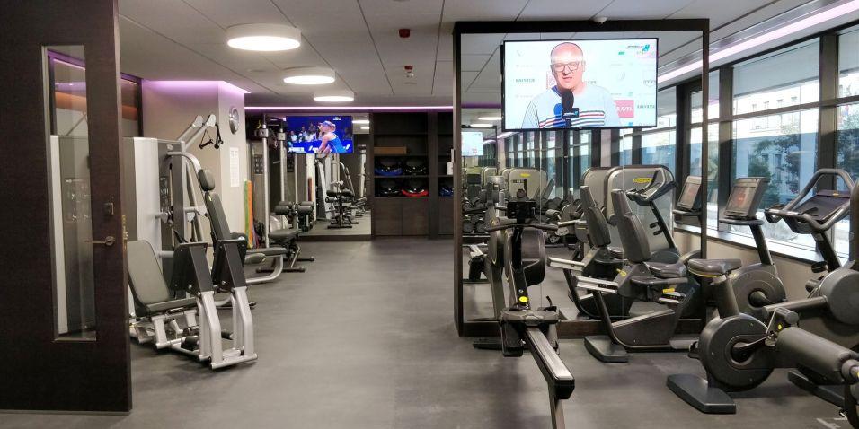 Hilton Belgrade Gym