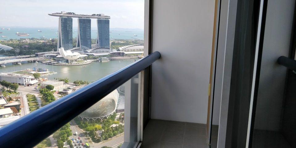 Swissotel The Stamford Singapore Balcony