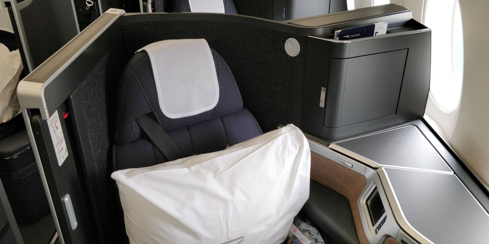 British Airways Business Class Airbus A350 Seat