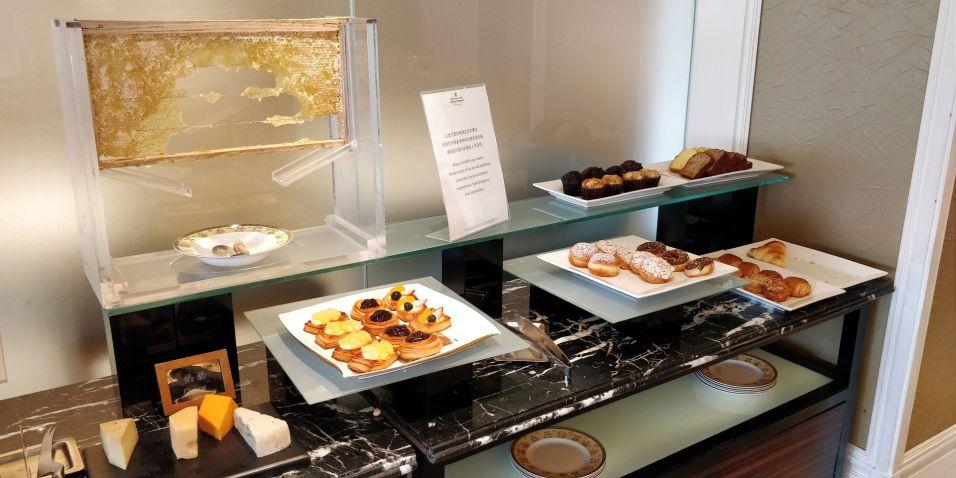 Pudong Shangri-La Shanghai Lounge Breakfast