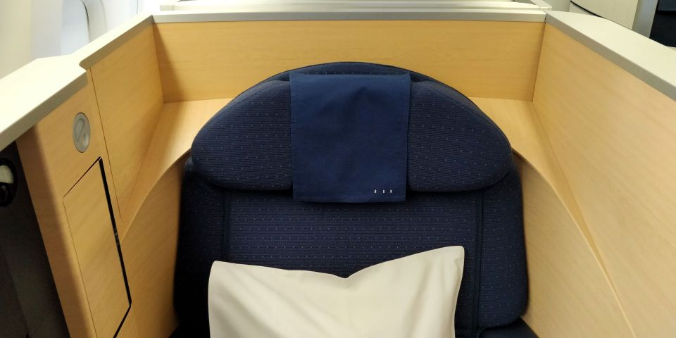 ANA First Class Seat