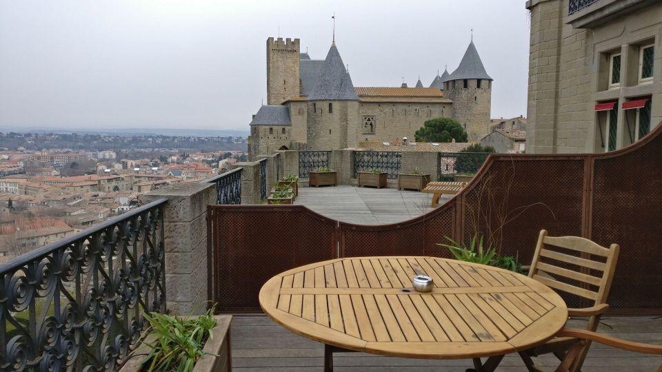 Hotel de la Cite Carcassonne Terrace