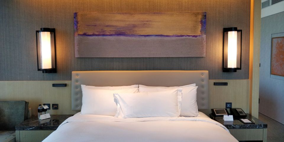 Conrad Seoul Suite Bedroom