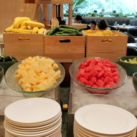 DoubleTree Shanghai Pudong Breakfast