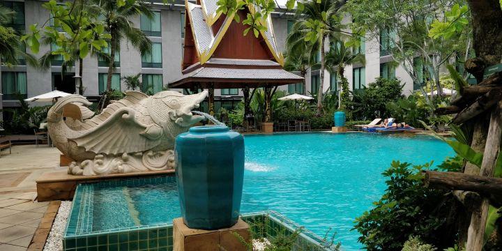 Novotel Bangkok Suvarnabhumi Airport Pool
