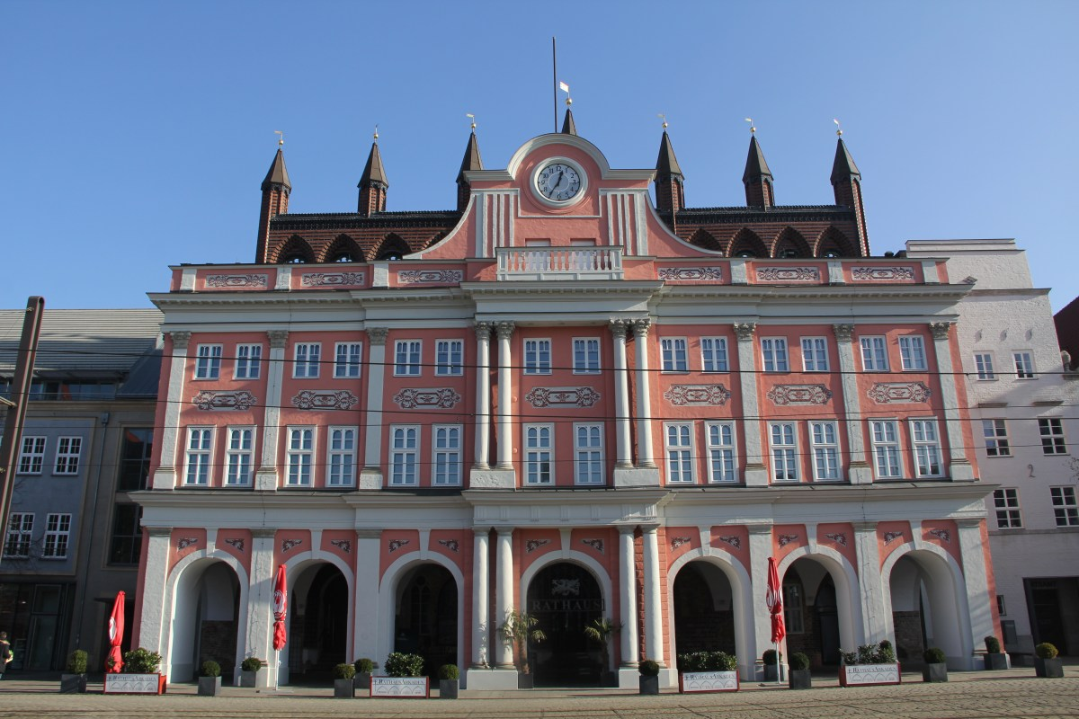 Town Hall in Rostock