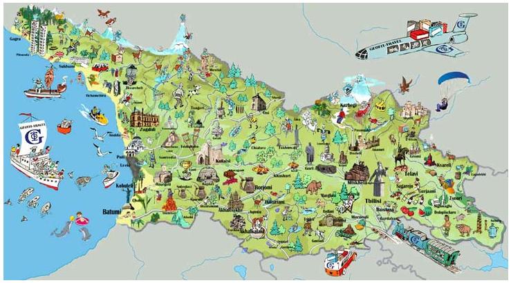 Туры в Грузию из Ташкента