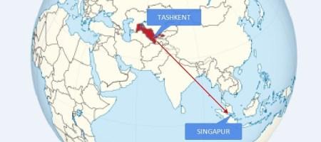 Воздушный мост Ташкент-Сингапур