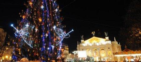 Львовский Театр Оперы и Балета в Рождество и Новый год