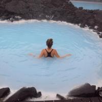 Πως είναι μια βουτιά στην blue lagoon της Ισλανδίας