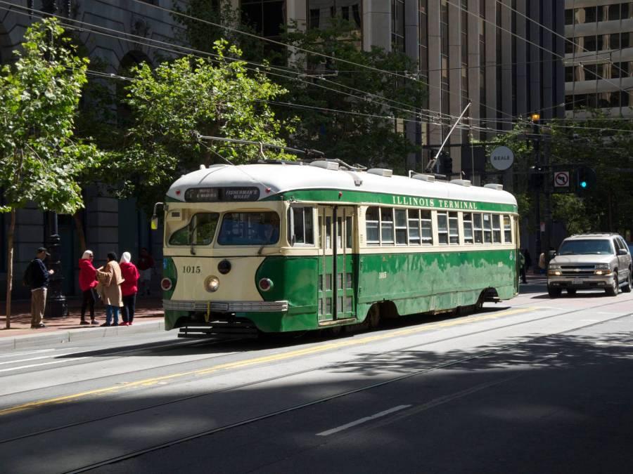 SAN FRANCISCO τραμ